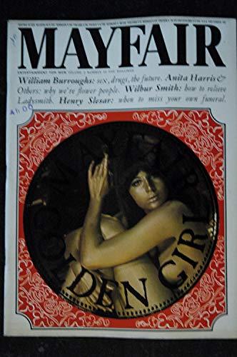 MAYFAIR UK Vol 02 N° 10 1967 10 TRES RARE RAQUEL WELCH ANITA HARRIS WILBUR SMITH William BURROUGHS Henry SLESAR