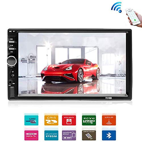 CBTJ Autoradio Bluetooth FM Audio MP5 Player Unterstützung Rückfahrkamera 2din Auto Audio Stereo Touchscreen TF SD USB Kamera 7 Zoll