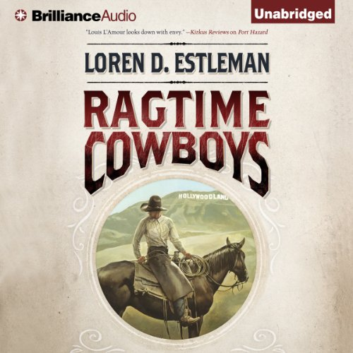 Ragtime Cowboys audiobook cover art