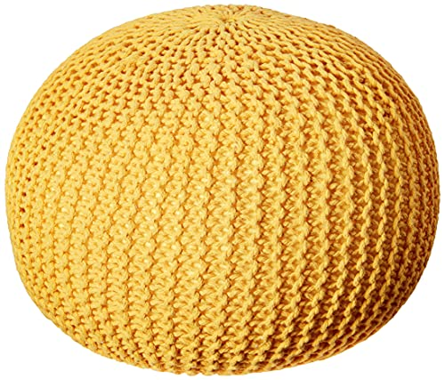 Christopher Knight Home Belle Knitted Cotton Pouf