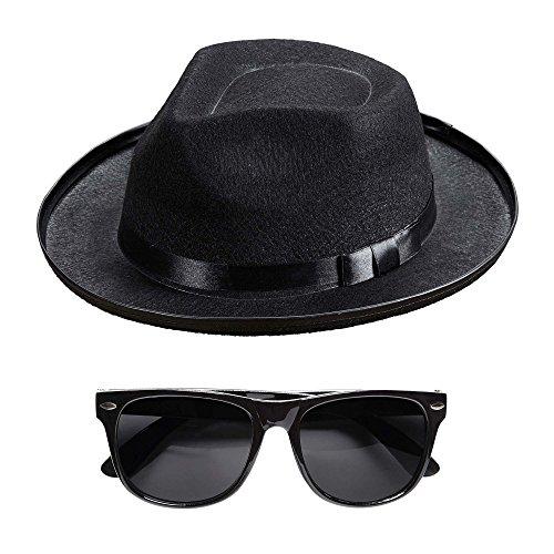 Widmann - Blue Man Hut und Brille