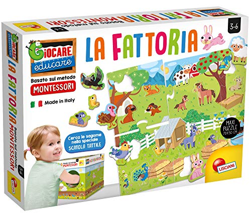 Liscianigiochi Giocare Educare, Montessori La Fattoria, 72484