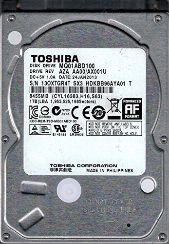 Toshiba MQ01ABD100 AZA AA00/AX001U Laptop-Festplatte (1 TB)