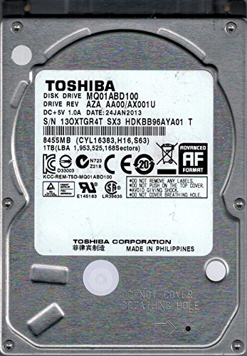 Toshiba MQ01ABD100 AZA AA00/AX001U - Disco duro para portátil (1 TB)