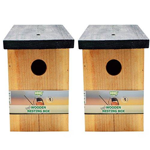 Deux nichoirs pour oiseaux sauvages (#1 des ventes)
