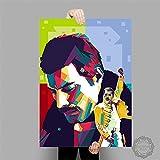 lubenwei Leinwandmalerei Freddie Mercury Queen Musiker