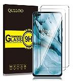 QULLOO Panzerglas für OnePlus Nord, [2 Stück] 9H Hartglas Schutzfolie HD Bildschirmschutzfolie Anti-Kratzen Panzerglasfolie Handy Glas Folie für OnePlus Nord 5G