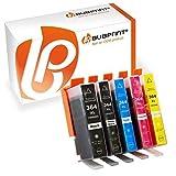 5 Bubprint Cartuchos de Tinta Compatible para HP 364XL para DeskJet D5460 PhotoSmart 7510 7520 e-All-in-One B8550 C5324 C5380 C6324 C6380 Premium C309g C310a C410 C410b Fax C309a