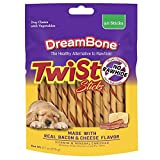 DreamBone Twist Sticks With Real Bacon And Cheese...