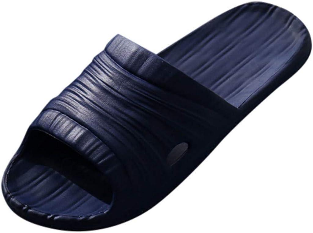 Unisex Bathroom Slippers Womens Slides