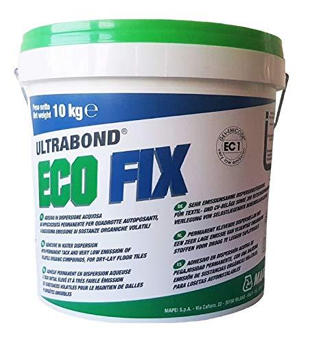 MAPEI Ultrabond Eco Fix TEPPICH PVC Kleber Teppichboden Beläge Fixierung 10 KG