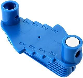 Offset Marking Tool 53098 Fits Standard Wooden Pencils Center Scriber (Blue) (10x5.8x5cm, Blue)