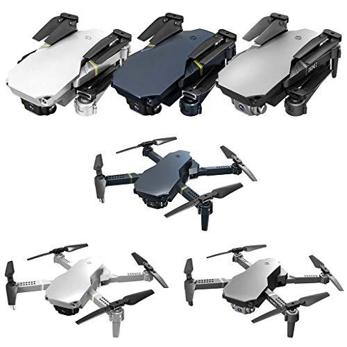 Irjdksd 4K/720P Doppel-/Einzel-WiFi-Kamera, unbemannte Luftfahrzeug-Fernbedienung, zusammenklappbare RC-Drohne, Quadcopter, Kinderflugzeug, Modell, Spielzeug, Kinder-Geburtstagsgeschenk, von Irjdksd