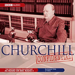 Churchill Confidential audiobook cover art