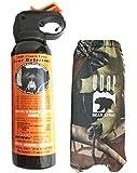 Udap Bear Spray with Camo Hip Holster
