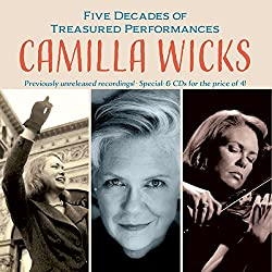 Camilla Wicks Five Decades of Treasured Performances