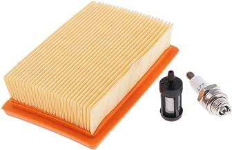 FLAMEER Brandstoffilter en bougie voor BR320 BR340 BR380 BR400 BR420 BR420C