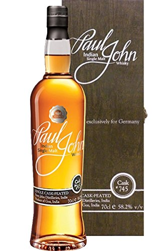 Paul John Peated Single Cask 745 Whisky 0,7 L Selected exclusively for Germany