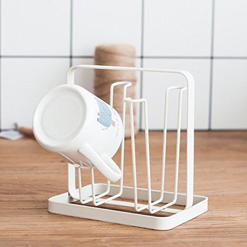 LUYIASI- Fashion Creative Simple Thicker Cup Rack Home Cuisine Étagères de Rangement Porte-théière Porte-Bagages en métal Porte-Bagages Porte-Bagages Porte-Bagages Porte-Bagages Cup Rack