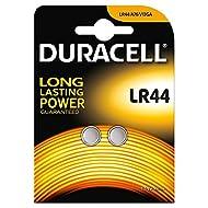 Duracell LR44 2 Batteries/pack 1.5V Alkaline Battery