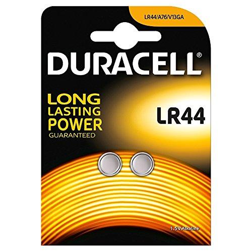 Duracell LR44Pilas 2/Unidades 1,5V Pila alcalina