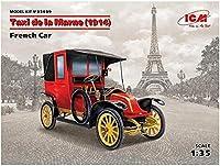 ICM 35659 1/35 ルノー マルヌのタクシー 1914年 プラモデル