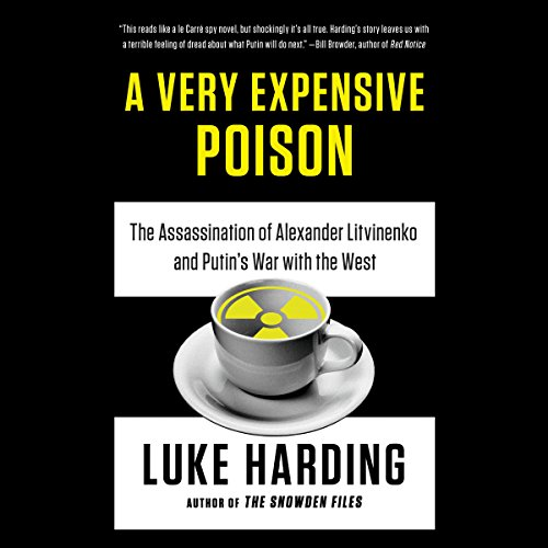 A Very Expensive Poison audiobook cover art