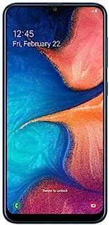 """Samsung Galaxy A20 SM-A205FDS 32GB, Dual Sim, 6.4"""" Infinity-V Display, Dual Rear Camera, 3GB RAM, GSM Unlocked International Model, No Warranty (Blue)"""