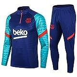 zhaojiexiaodian Uniformes de fútbol, primavera y otoño, sudaderas para adultos, uniformes de entrenamiento de clubes, uniformes de competición (Figura 1, L, l)