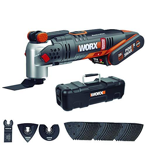 Worx WX693 20 V Li-Ion Akku-Multifunktionswerkzeug mit bürstenlosem Motor, 40 W