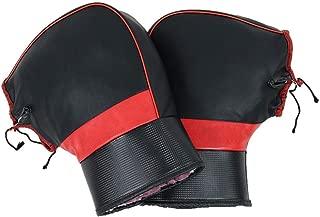 Universal Manta para Scooter Impermeable Oxford Cubre Piernas para Motos Cubre Piernas Color Negro approving Exuberanter Linuscud con Guantes De Manillar