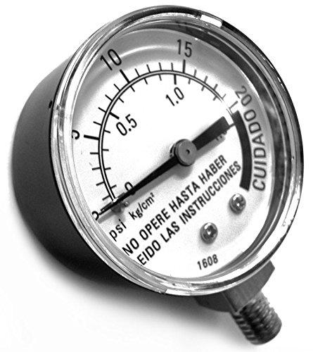 Presto 79338 Manómetro para Ollas Industriales, 17/21 l