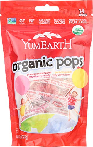 Yumearth Lollipops Organic 3 Ounce