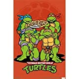 Teenage Mutant Ninja Turtles Pizza Poster Drucken (60,96 x