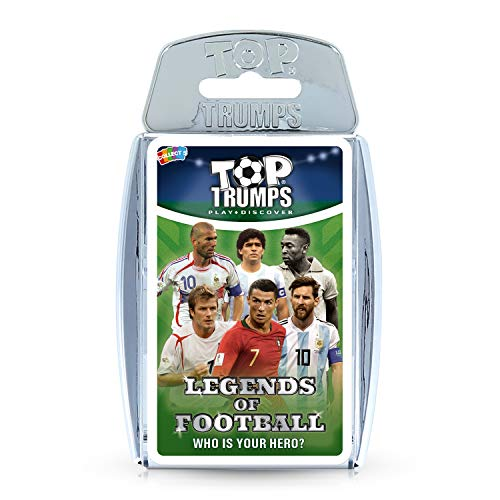 Top Trumps Legends of World Football - Who Is Your Hero? Card Game