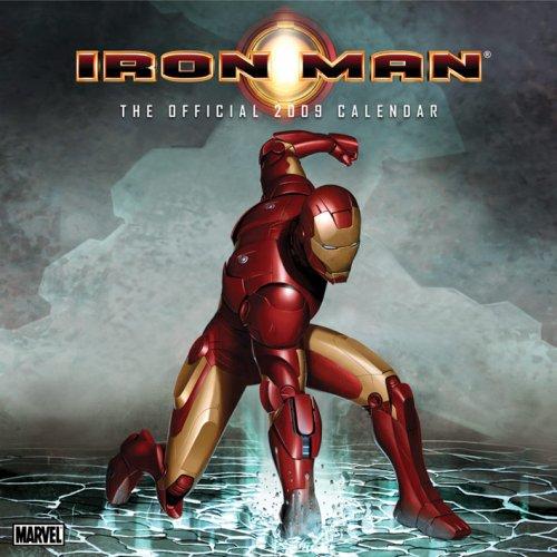 Iron Man (3d Cover) Square Calendar 2009