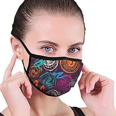 Unisex Mask Bright Floral Seamless Pattern Reusable Face Mask for Kids Teens Men Women