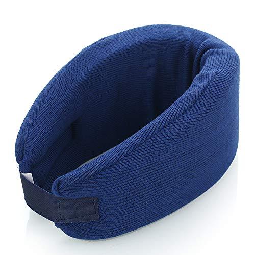 Cervical Neck Collar,Ergonomic Neck Support Brace for Men, Women and Sleeping,Neck Pain Relief (Dark Blue Medium)