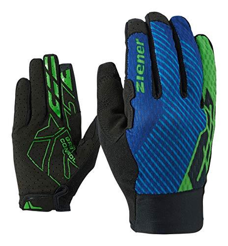 Ziener CURTIZ TOUCH Long Bike Glove Fiets-/mountainbike-/wielersport handschoenen | Lange vingers met touch-functie – ademend/antislip
