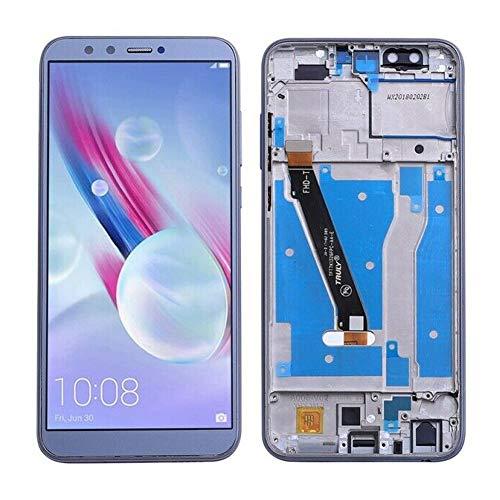 Kit de reparación Completo para Huawei Honor 9 Lite LLD-L31 AL00 AL09 de Pantalla LCD con Kit de reparación de Pantalla para reemplazar tu teléfono dañado, Agrietado y destrozado with Frame Gris
