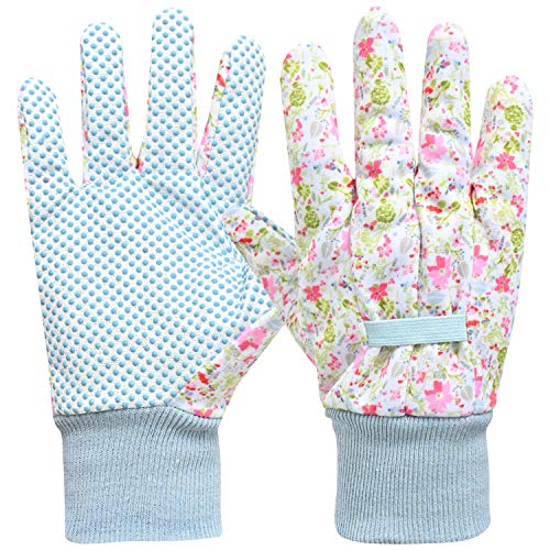 2 Pairs Gardening Working Gloves for ladies Women ,Gardening Gifts,Soft and Comfortable Digital...