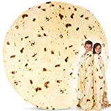 Simple Craft (60 Inch) Tortilla Giant Burrito Blanket For Adults...