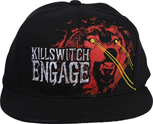 Killswitch Engage - Casquette de baseball Wolf In Black, O/S, Black
