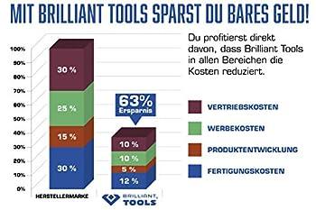 Brilliant Tools BT536006 Clés Universelle pour Trappe de réservoir, Bleu/Noir, 1-TLG