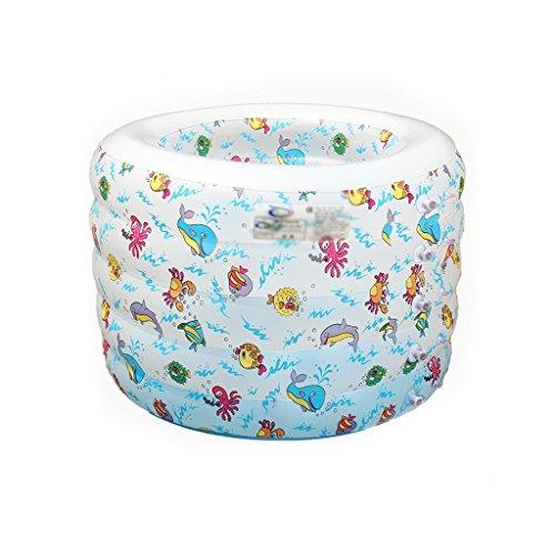 Baignoire pliante gonflable de bébé de bande dessinée, baignoire portative pour la piscine d'enfant de SPA de maison de bain d'enfant