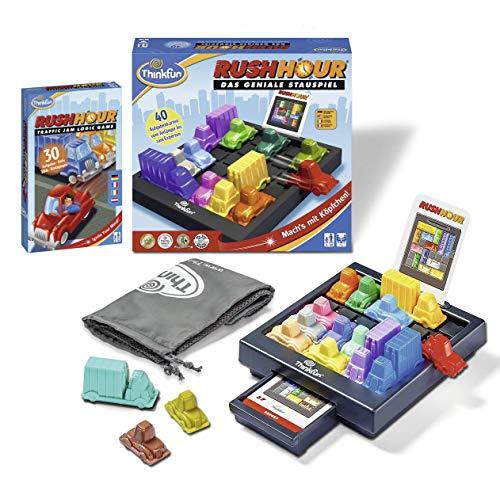 Ravensburger 76301 ThinkFun Rush Hour - Juego de mesa y juego de mesa (incluye juego de mesa Rush Hour)