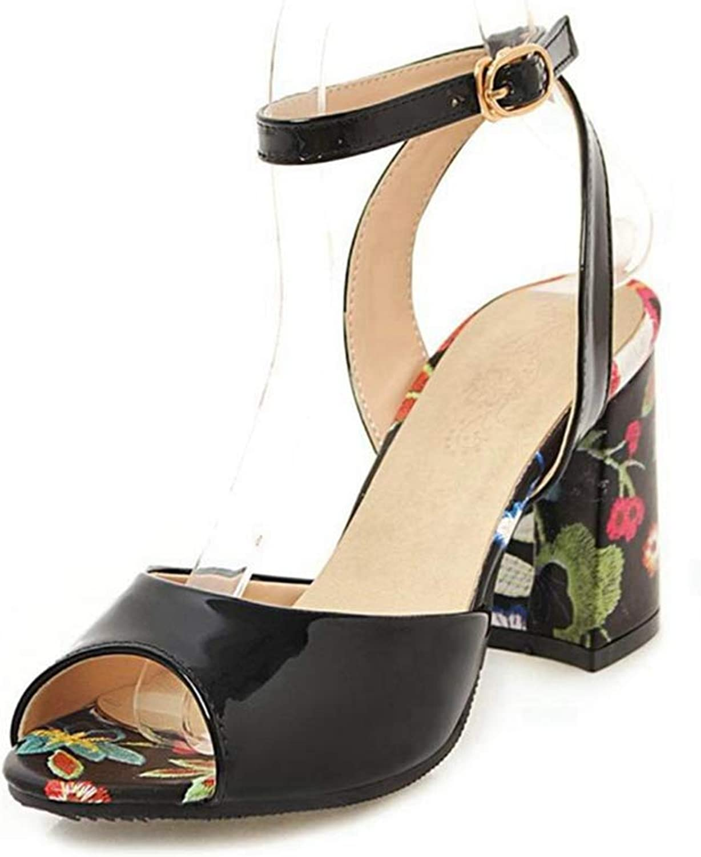 Ladies Pumps Sandal Ankle Straps Party Wedding Women Sandals Fashion Gladiator Flower shoes