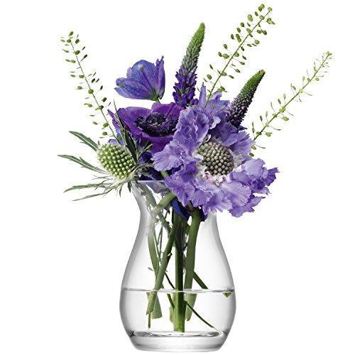 LSA FW26 Petit vase Flower, hauteur 9,5 cm, transparent
