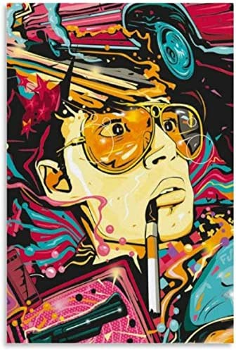 Luck7 Canvas Prints Wall Art Posters Beauty Room Fear and Loathing in Las Vegas Movie Decorative product image