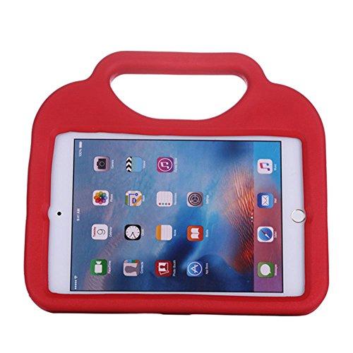 iPad Mini 2Kid, iPad mini3Kid, Cover, Función Multi niño/a prueba de golpes de niños funda con soporte/asa para Apple iPad Mini 1/2/3/4generación Tablet rojo rosso iPad Mini 1/2/3/4